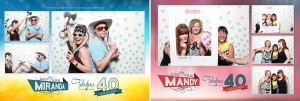 40th Birthday Photo Booth at the Riverstone Pub
