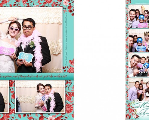 Regency Palace Calgary Wedding Photo Booth
