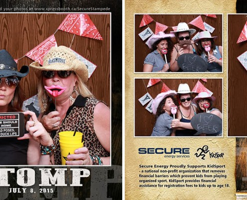 Secure Stampede Stomp at National on 8th Patio