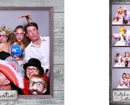 Cochrane Ranchehouse Wedding Photo Booth Pictures