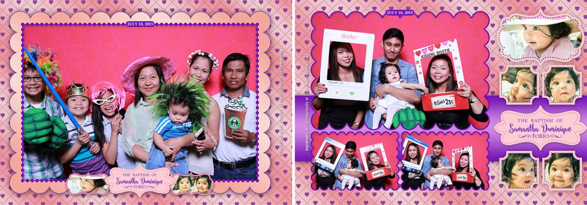 Photo Booth Pictures from Samantha's Baptism