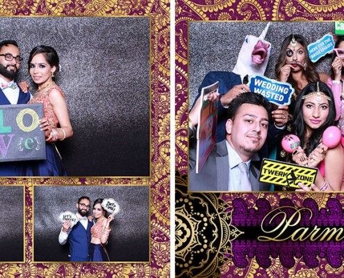 Parm & Mandy Wedding Photo Booth
