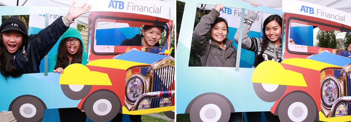 ATB Financial at the First Fiesta Filipino at the Olympic Plaza in Calgary