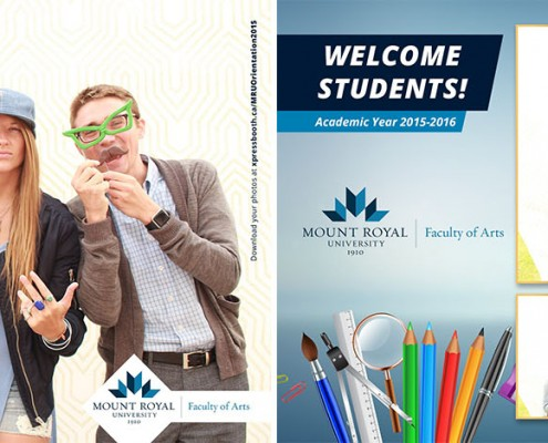 Mount Royal University - School of Arts Student Orientation