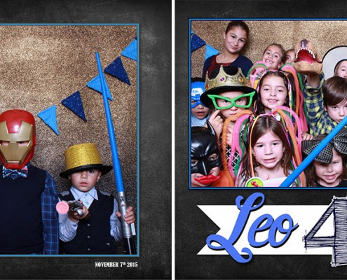 Photo Booth pictures form Leo's 40th Birthday Celebration