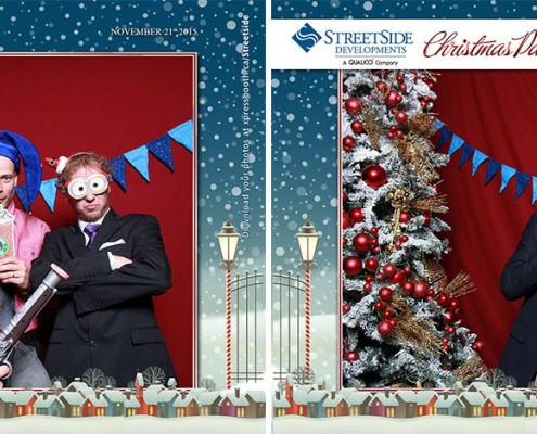 Streetside Developments Christmas Party at the Rotary House in the Stampede Park