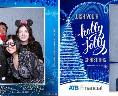 ATB Financial Christmas Party at the Telus Convention Centre