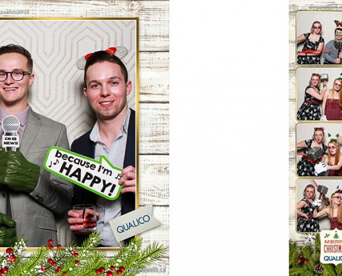 Qualico Christmas Party at the Hotel Arts