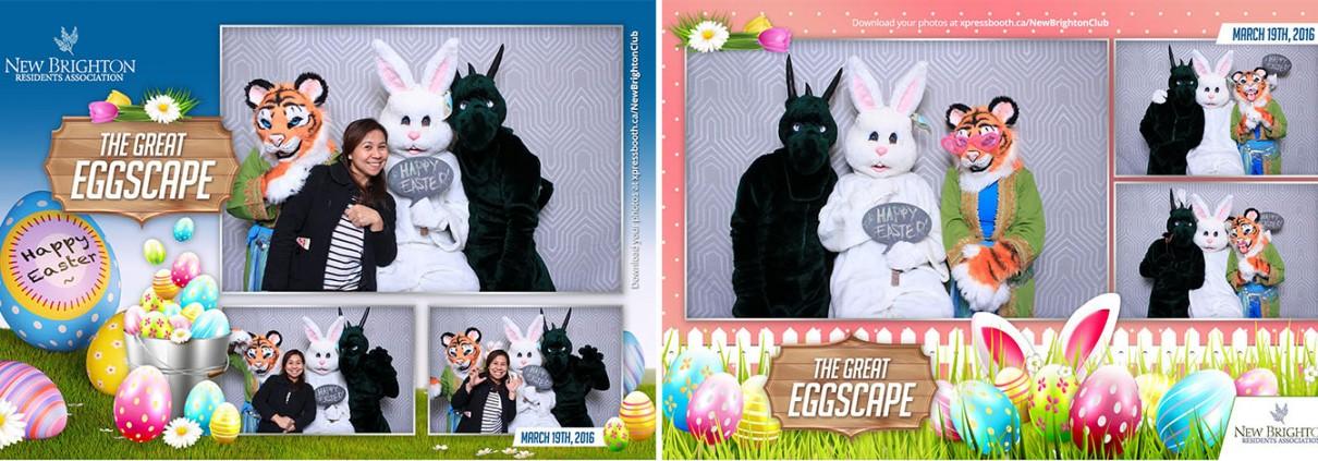 New Brighton Club Easter Egghunt - The Great Eggscape