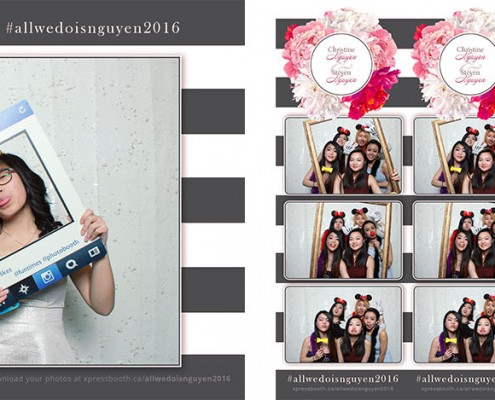 Photo Booth Pictures from Christine & Steven's Wedding at the Magnolia Banquet Hall