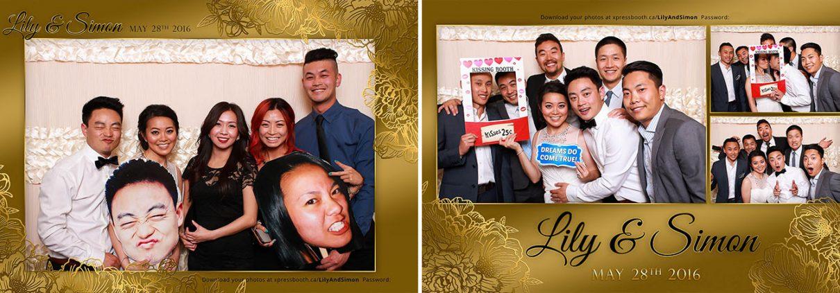 Lily & Simon's Gold and Peony Themed Wedding