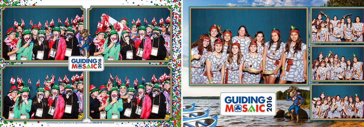 Sylvan Lake Photo Booth at the Guiding Mosaic 2016