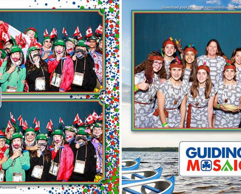 Sylvan Lake Photo Booth at the Guiding Mosaic 2016