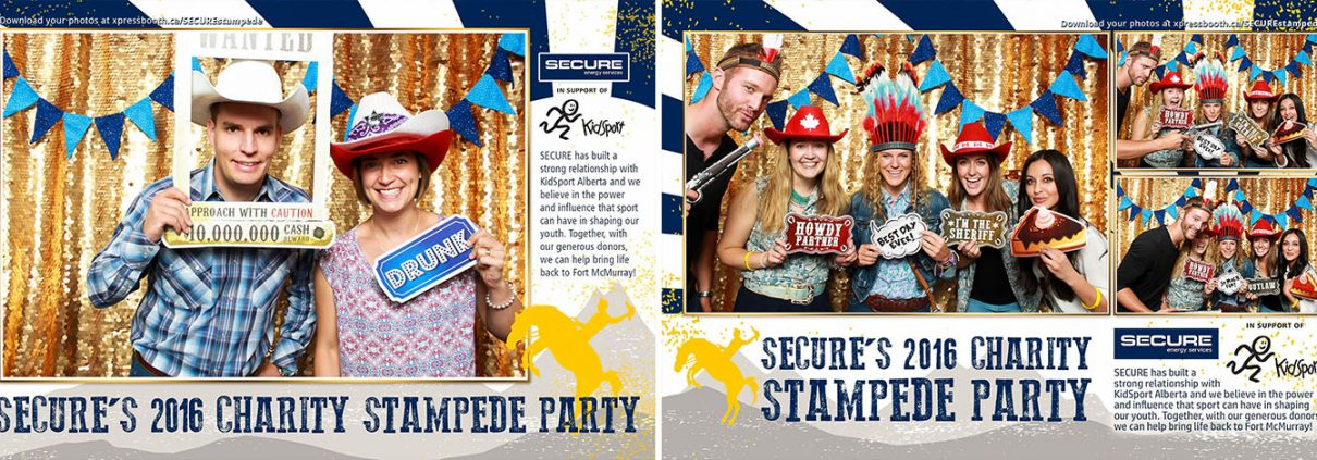 SECURE'S 2016 Charity Stampede Party at the National on 8th