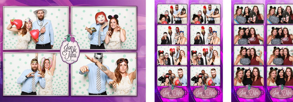 Tifni & Jon's Photo Booth Pictures from their wedding at the Inglewood Community Hall
