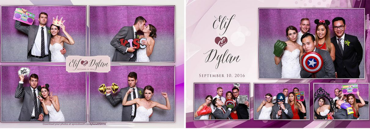 Photo Booth at Dylan and Elif's Wedding at the Sirocco Golf Club