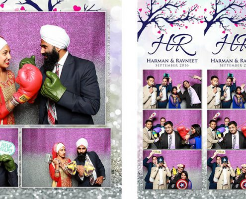 Harman and Ravneet's Puple, Navy, and Silver Wedding at the Empire Banquet Hall in Calgary