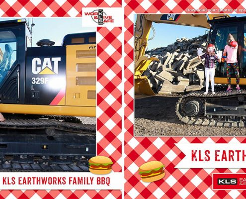 KLS Earthworks & Environmental Family BBQ Outdoor Photo Booth