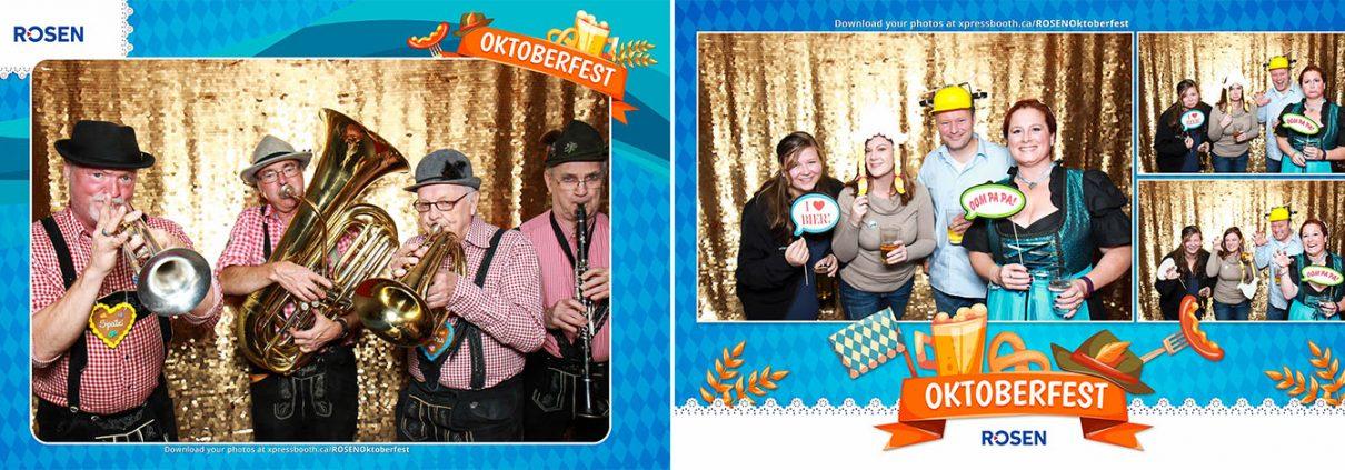 ROSEN Oktoberfest Client Appreciation Event Calgary Photo Booth