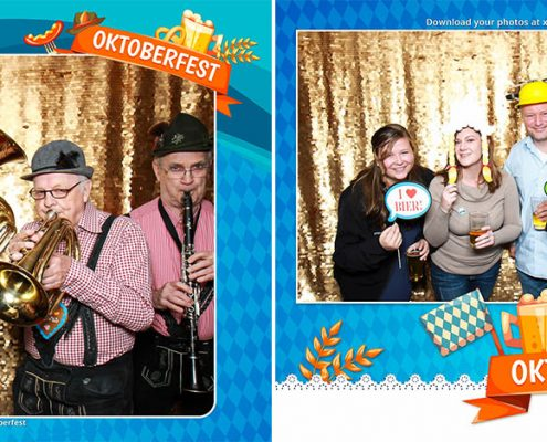 ROSEN Oktoberfest Client Appreciation Event Calgary Photo Booth