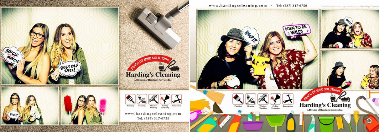 Harding's Cleaning at the Calgary Woman's Show at the BMO Centre