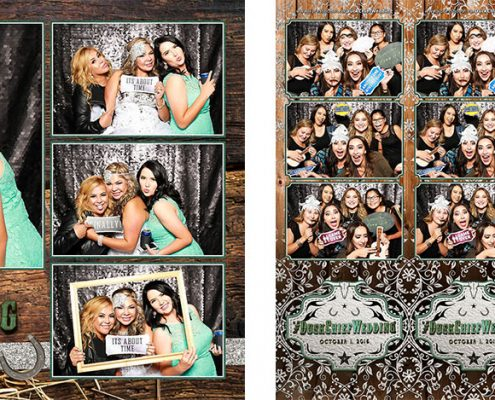 Duck Chief Wedding Photo Booth at the Glenmore Inn