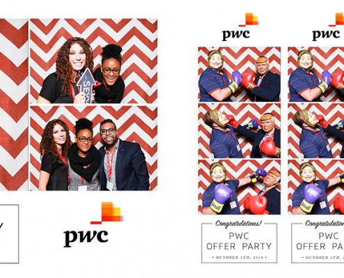 PwC Calgary Offer Party Photo Booth at the 80th and Ivy Modern Kitchen