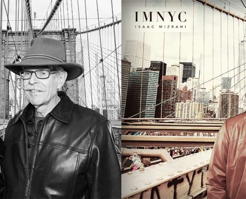 Isaac Mizrahi IMNYC at Hudson's Bay department store greenscreen photo booth activation