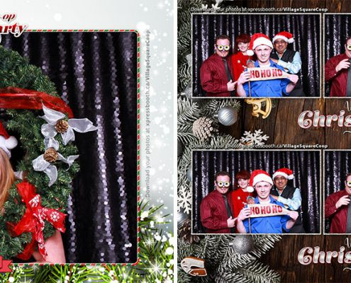 Christmas Party Photo Booth of Village Square Coop at the Croatian Cultural Centre