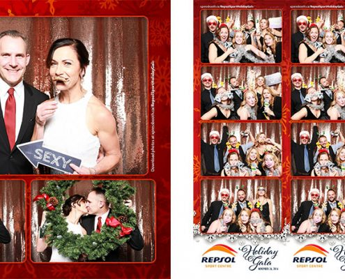 Photo booth gallery for the Repsol Sport Holiday Gala at the Carriage House Inn