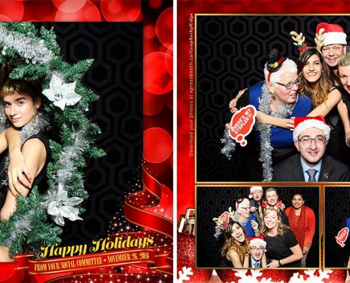 Rocky Ridge Coop Christmas Party Photo Booth at the Lynx Ridge Golf Club