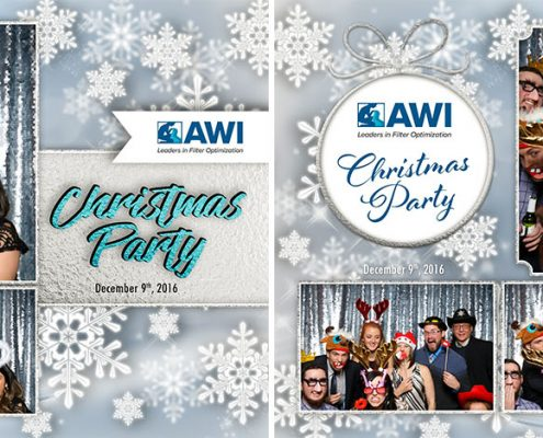 AWI Christmas Party Photo Booth