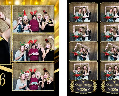 Creekside Coop Christmas Party Photo Booth at the Croatian Cultural Centre in Calgary
