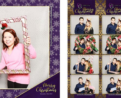Granite Gallery Christmas Party Photo Booth