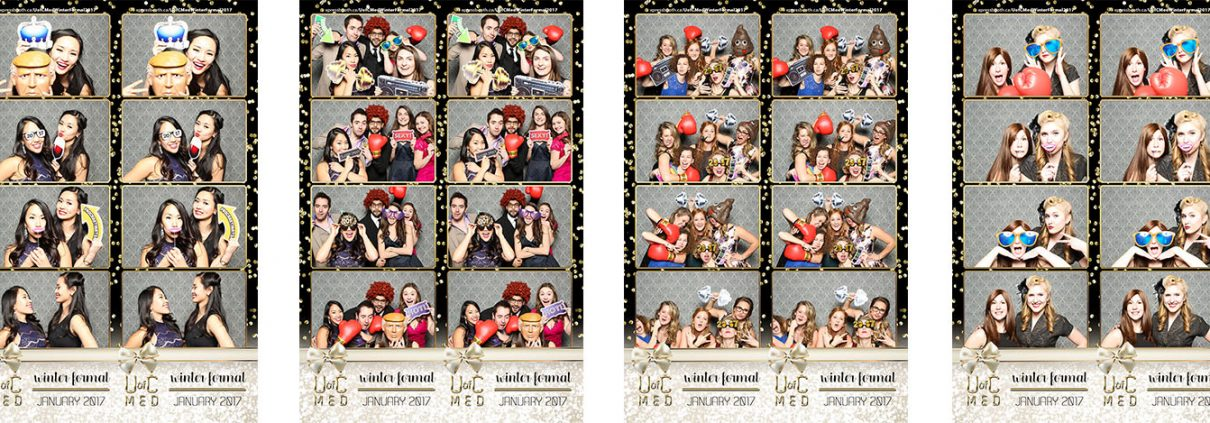 U of C Med Winter Formal Photo Booth at the Calgary Aerospace Museum
