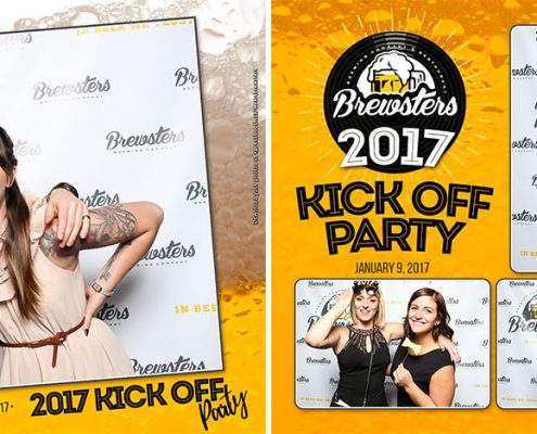 Brewsters 2017 Kick Off Party Corporate Photo Booth