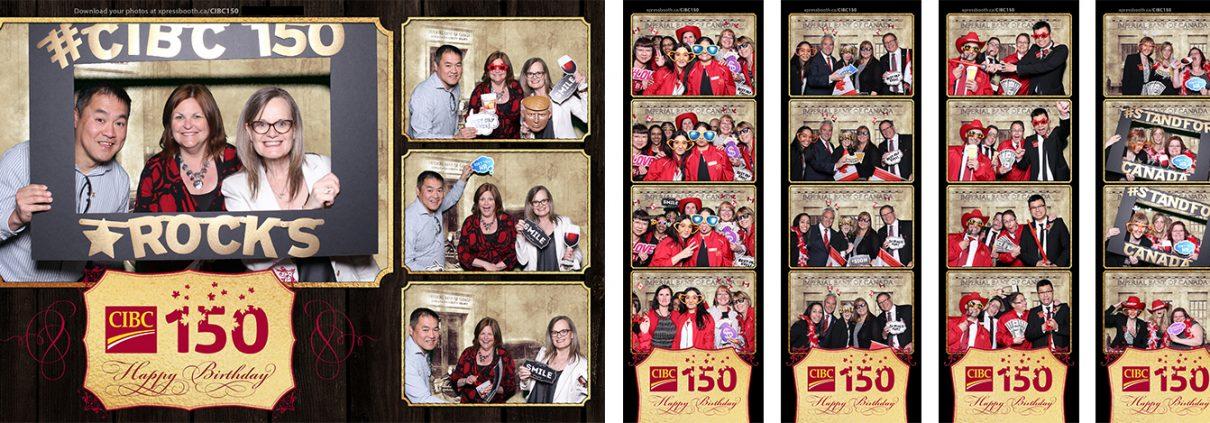 CIBC Canada 150 celebration green screen corporate event