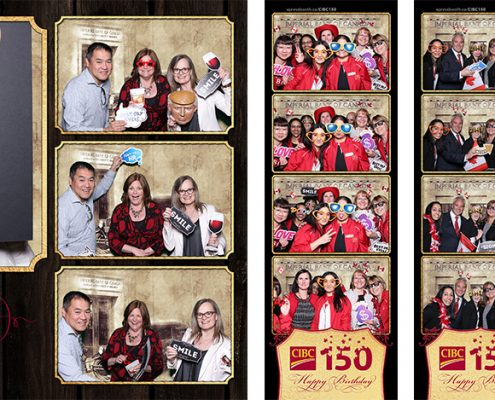 CIBC Canada 150 celebration green screen corporate event