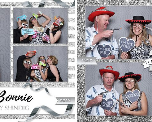 Dean & Bonnies 25th Anniversary Photo Booth at Highwood Community Association