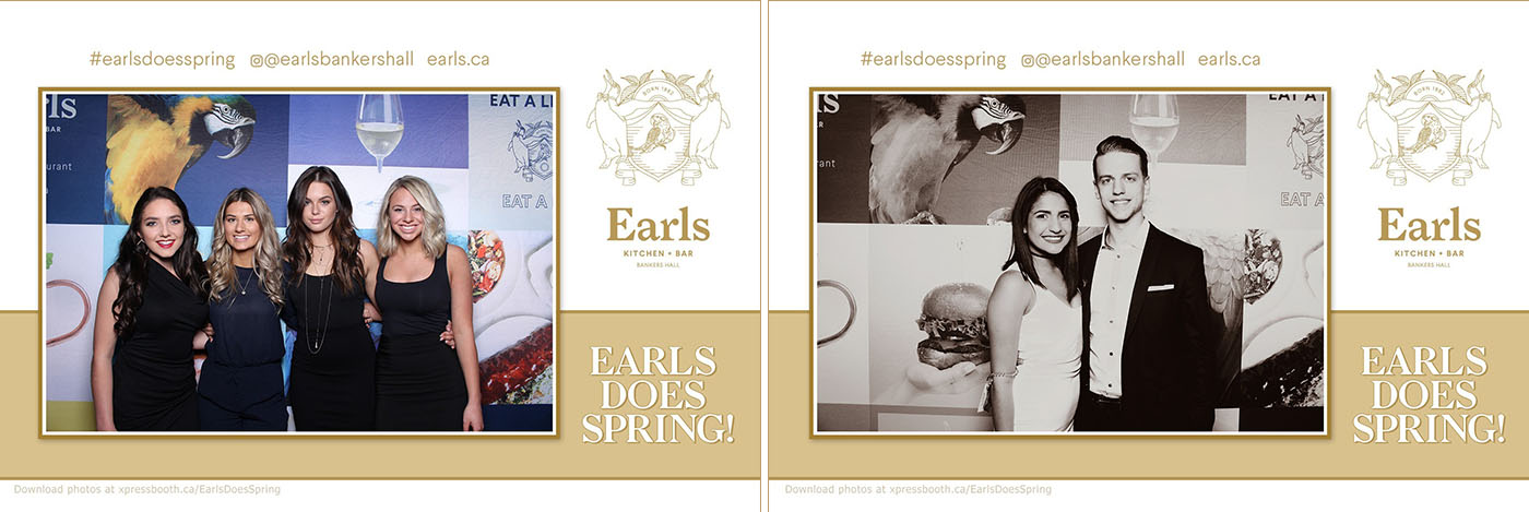 Photos and Boomerang Animated GIFs at Earls Does Spring! Party at Bankers Hall Calagry