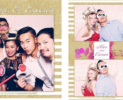 Alex & Ericson's Wedding Photo Booth at the Four Points by Sheraton Calgary