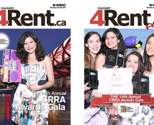 Rent.ca Magazine at the 14th CRRA Calgary Residential Rental Association Awards Night Gala 2017
