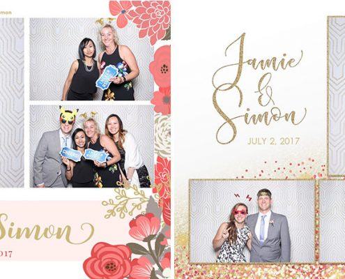 Jamie & Simon's Wedding Photo Booth at Valley Ridge Golf Club