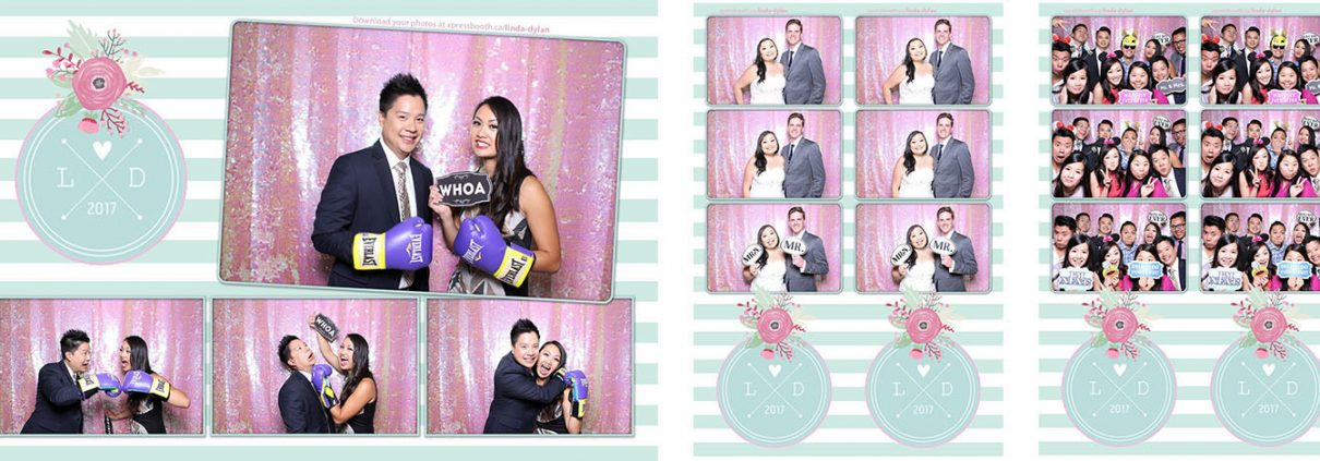 Linda & Dylan's Wedding Photo Booth at Eastern Treasures Restaurant