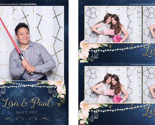 Lisa & Paul's Wedding Photo Booth at the Glenmore Inn in Calgary