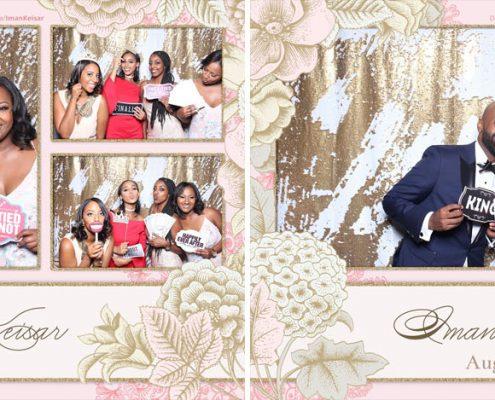 Iman & Keisar's Wedding Photo Booth