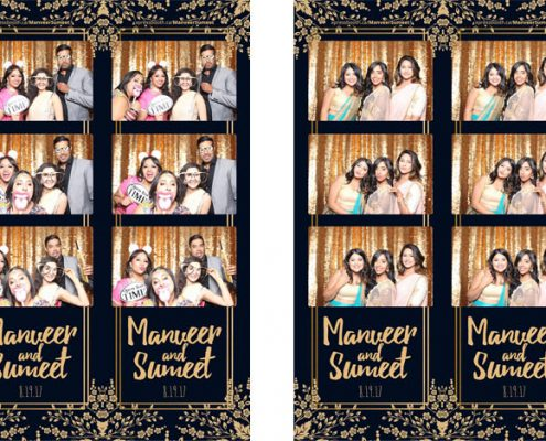Manveer & Sumeet's Wedding Photo Booth at Magnolia Banquet Hall