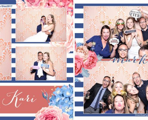 Mark & Kari's Canmore Wedding Photo Booth Rental at the Stewart Creek Golf & Country Club