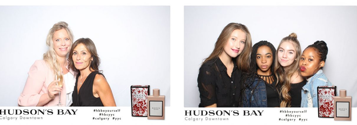 Hudson's Bay Calgary Downtown VIP Event for Gucci Bloom