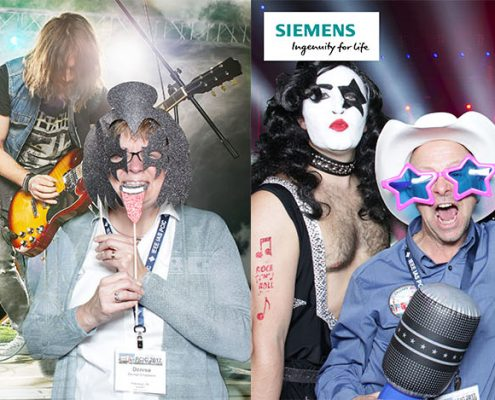 IEEE PCIC Siemens Party Photo Booth at Hyatt Regency Calgary